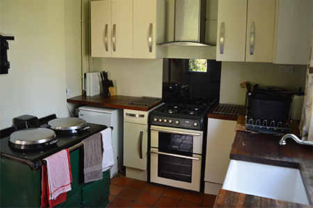 Kitchen - Upper Lodge Farmhouse Rental Berkshire
