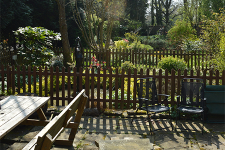 Outdoors and Garden - Upper Lodge Farmhouse Rental Berkshire